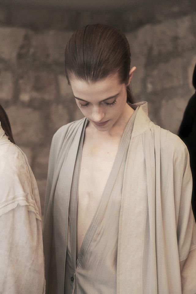 Backstage @ Damir Doma Womenswear S/S 2012