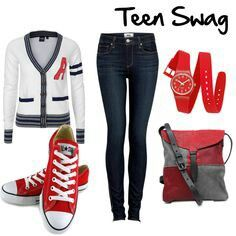 Teen fashion look