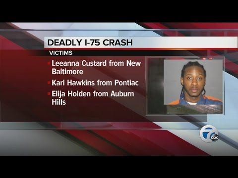Victims identified in I-75 fatal crash - YouTube