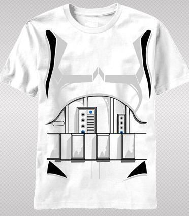 NEW Star Wars Storm Trooper Costume Armor Classic Movie Kids Boy T-shirt top tee #StarWars #GraphicTee