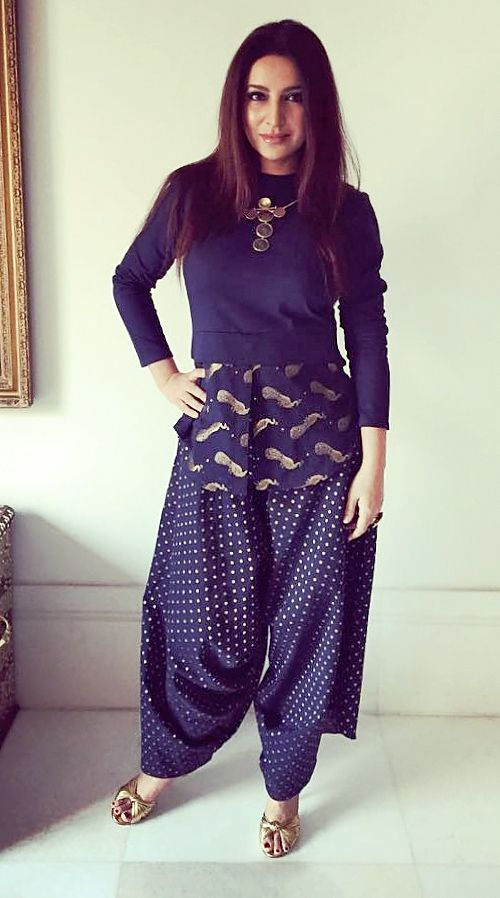Tisca Chopra wearing Amoh by Jade