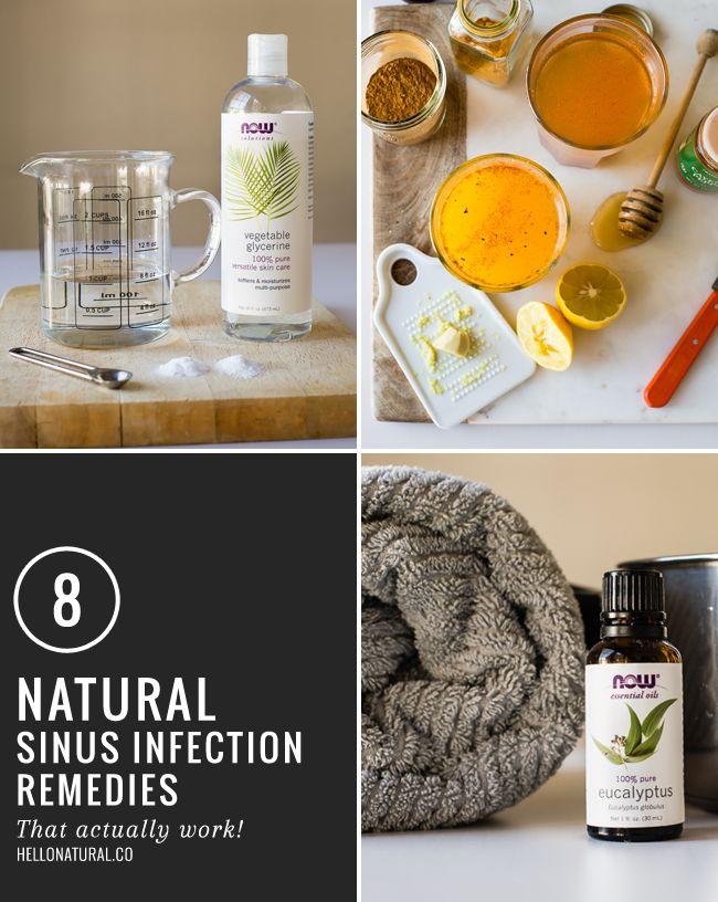 8 Remédios naturais para sinusite: tchau, infecção!