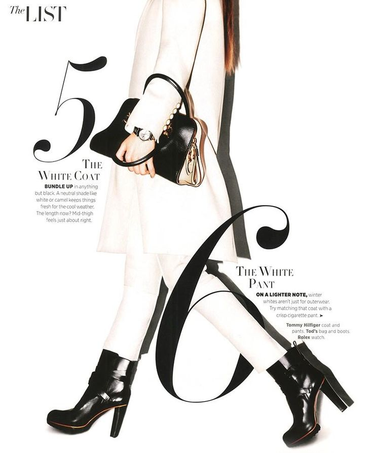 The List Harper Bazaar Love Layout Color Slick Thin Font