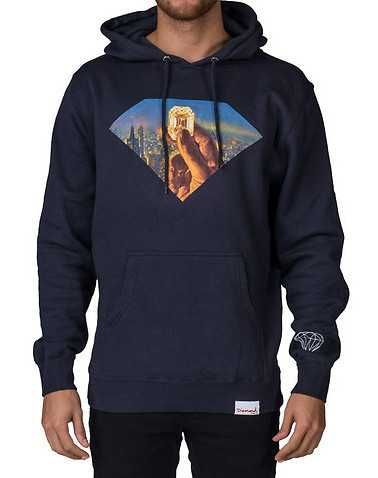 #FashionVault #diamond supply company #Men #Tops - Check this : DIAMOND SUPPLY COMPANY MENS Navy Clothing / Sweatshirts for $29.99 USD