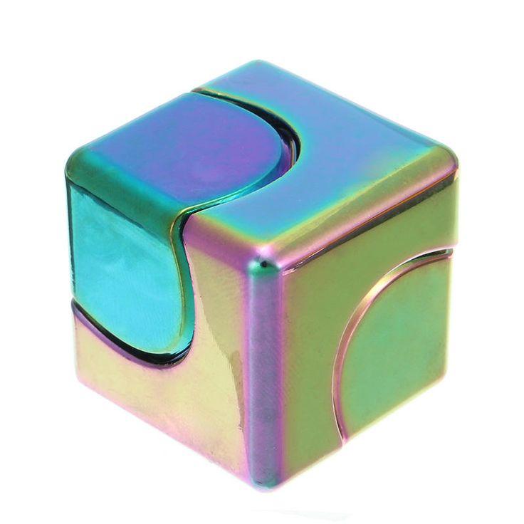 ECUBEE EDC Hand Spinner Cube Colorful Fidget Spinner Finger Gadget Sale - Banggood Mobile
