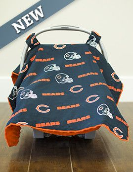 "Free Chicago Bears Baby Car Seat Cover, Click the picture, enter Promo Code ""Baby23"" at checkout & just pay shipping!  newborn, nursing cover, baby leggings, newborn photography, crib bedding sets,baby headband, infant clothing, diaper bags, baby furniture, nursery furniture, nursery decals, nursery decoration, baby socks, baby girl shoes, baby shoes girls, baby girl dresses, bassinet, pregnancy photography, newborn photo ideas, baby shower ideas, baby ideas, newborn gift ideas, car seat…"