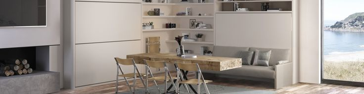 Space Saving Furniture   Resource Furniture   Wall Beds & More  CLIE furniture - crazy good table