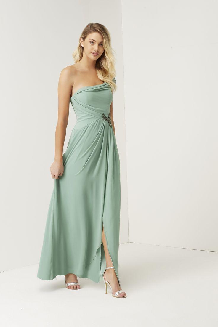 58 best mint bridesmaids dresses images on pinterest mint sage jewel waist maxi dress wedding ombrellifo Image collections
