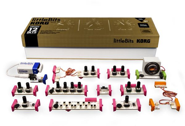 I love everything from LittleBits! The Synth Kit teaches logic and electronics and who doesn't love music!?