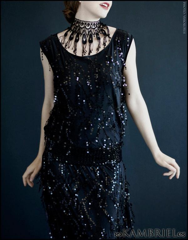 Speakeasy Dress by Kambriel - Custom Made for You. $250.00, via Etsy.