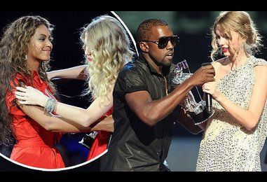 Taylor Swift AND Beyonce were left in tears after Kanye's VMA invasion