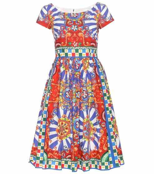 Printed cotton dress | Dolce & Gabbana