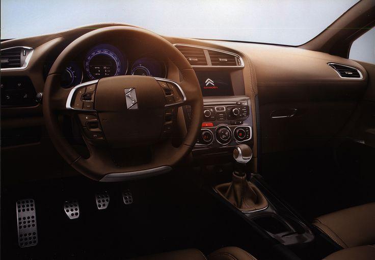 https://flic.kr/p/GSeaiL | Citroen DS4 interior; 2010_3 | car brochure by worldtravellib World Travel library