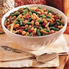 5 Bean Salad Recipe - This protein packed salad is perfect for herbivores in need of some energy. Re-Pinned by The Workout Girl.  For workouts you can do anywhere, check out http://www.theworkoutgirl.com