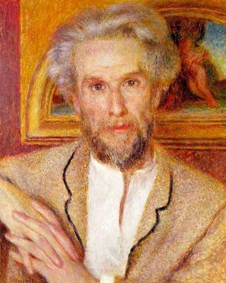 Portrait de Monsieur Chocquet, (1876), Collection Oskar ...