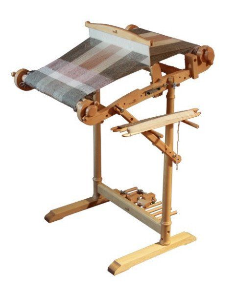 """After decades of making spinning wheels, the Kromski family decided to """"try their hand"""" at Rigid Heddle Looms. Now, weaver's around the globe are so glad they d"""