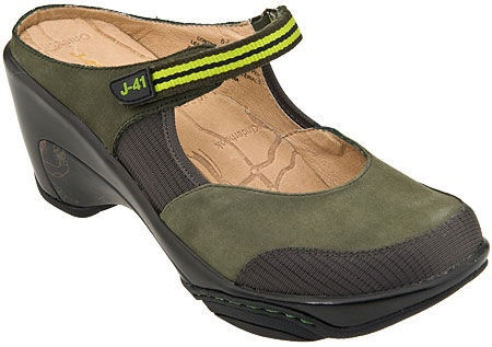 J41 Womens Shoes 10M CONTINENTAL Olive LNC! Comfort $49.99 free