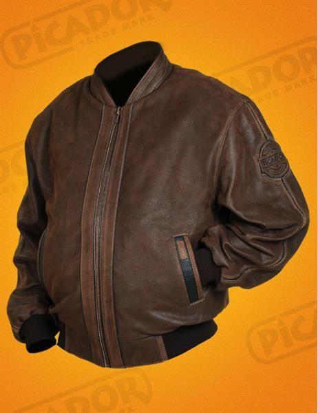 Куртка мужская кожаная больших размеров
