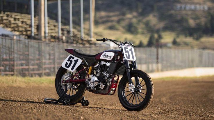 Indian FTR750 Flat Track Racing