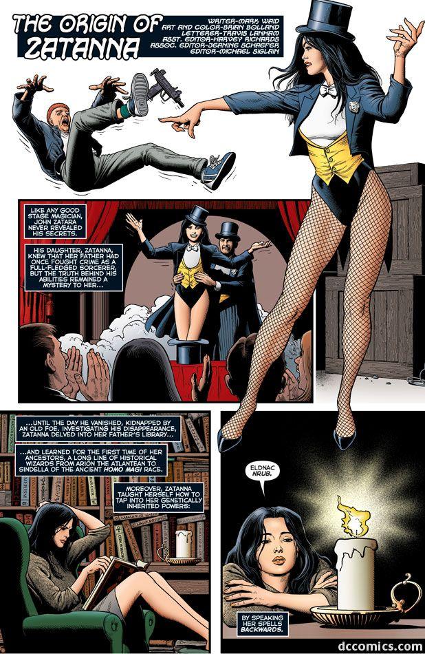 The Origin of Zatanna(Part1)