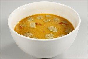 Chilisuppe med nudler og kødboller 4