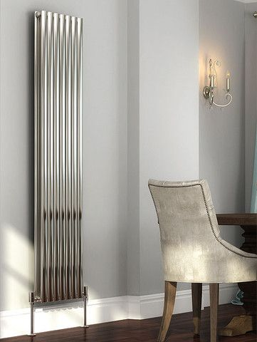 The DQ Cove Stainless Steel Vertical Designer Radiator, offers the same excellent smooth and sleek design as the mild steel original, but in a superior material. Available in 2 stunning finishes. Polished and Brushed