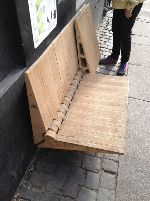 """mrgreaves:  urbanexcursioncph:  Some pictures of interesting stuff found on our """"travels"""" through Copenhagen… We really like the """"DO IT YOURSELF"""" urban furniture and birdhouses…"""