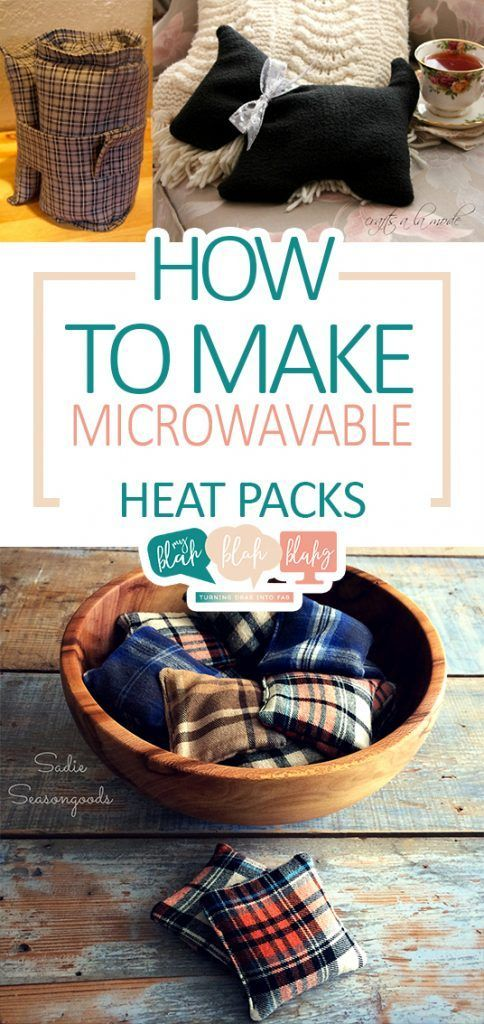How to Make Microwavable Heat Packs