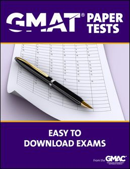 Practice the GMAT and become familiar with the format with these downloadable exams from GMAC.