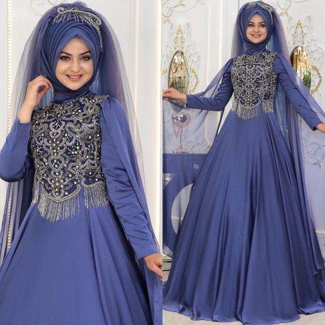 Tesetturlu Sade Ve Sik Soz Nisan Abiye Elbise Modelleri Tesettur Elbi Fashion Muslim Fashion Pakistani Fashion