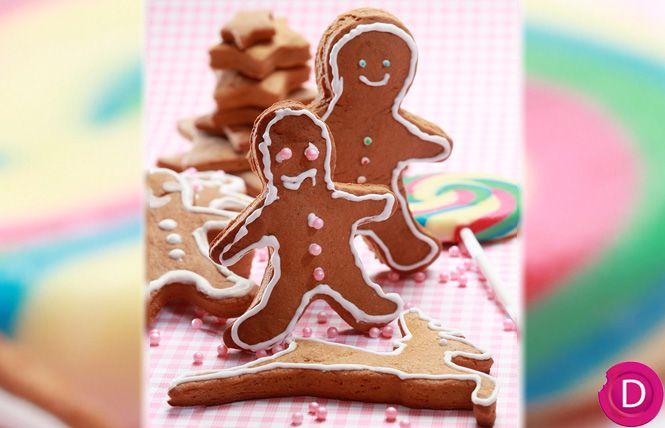 Μπισκότα Χριστουγεννιάτικα με πετιμέζι για στολίδια | Dina Nikolaou