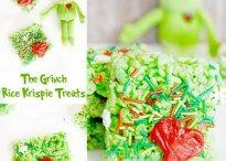 """The Grinch"" Rice Krispie Treats - Sprinkle Some Fun"