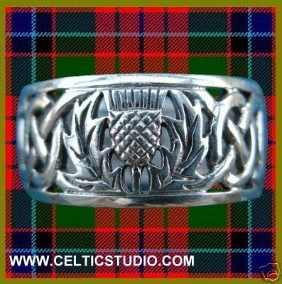Celtic/ scottish wedding band - mens