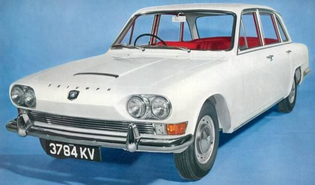 The Triumph 2000 MkI was initially launched as a saloon at the Earls Court Motor Show in October 1963