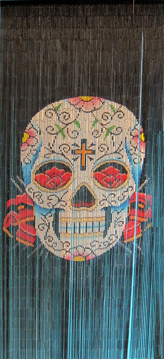 Skull Bedroom Curtains 17 Best Images About Beaded Curtains On Pinterest Flats Bead