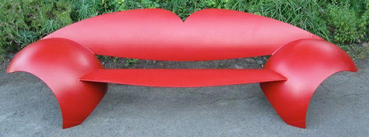 lips fait à partir de vieux réservoirs de propane - Colin Selig