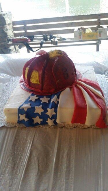 Firefighter grooms cake! facebook.com/sweetladiesbake