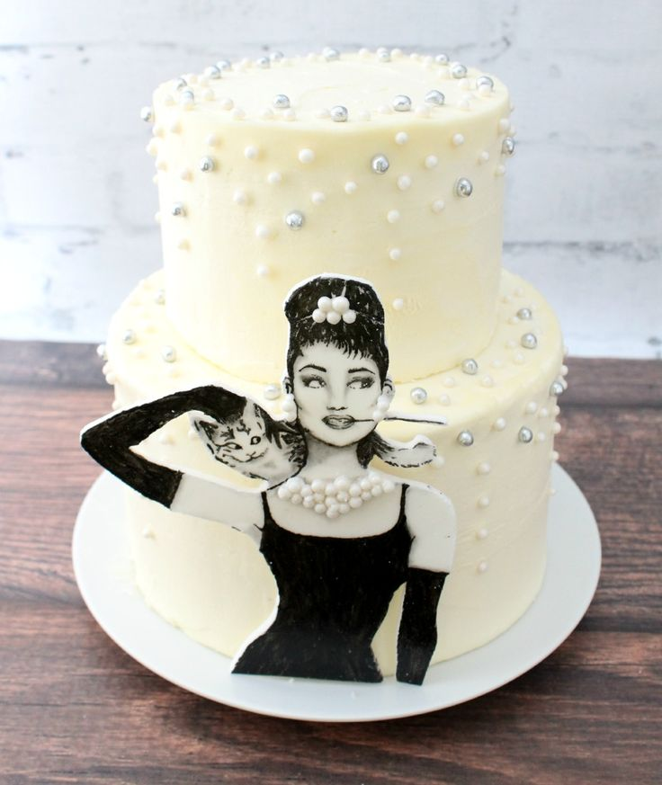 Audrey Hepburn cake | Let's face it, a good, creamy chocolate cake does a lot of things ...