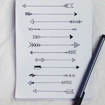 Flechas desenhos tumblr Más
