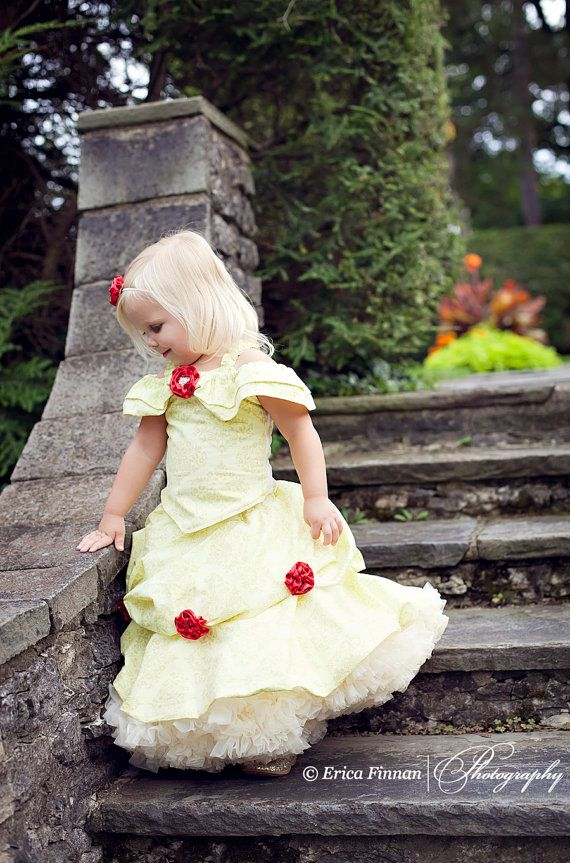 Belle of the Ball Gown children's costume girl's clothing sewing tutorial PDF pattern @etsy.     I wanted Belle's dress when I was a little princess!: Girl Clothing, Girls, Ball Gowns, Pdf Pattern, Costume, Belle, Sewing Tutorials, Clothing Sewing