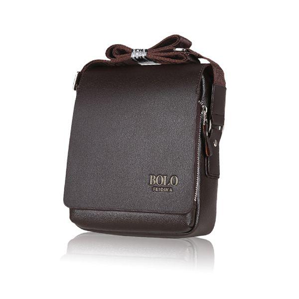 Men Business Cowhide Casual Retro Crossbody Shoulder Bag Briefcase