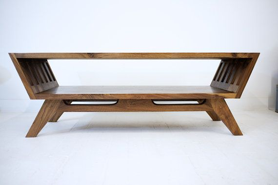 Midcentury Modern Walnut Coffee Table, Modern Coffee Table, The April