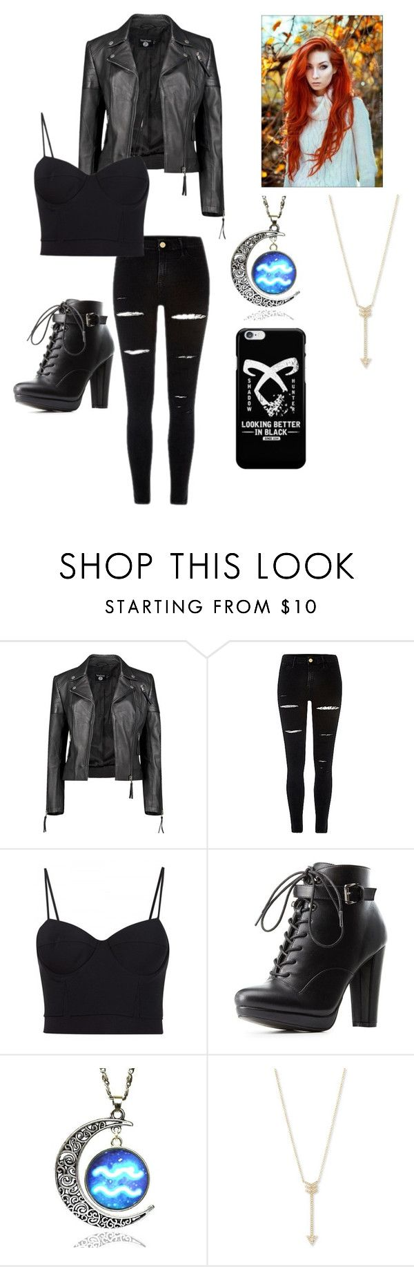 """Clary"" by moriartylauren on Polyvore featuring Boohoo, Alexander Wang, Charlotte Russe and EF Collection"