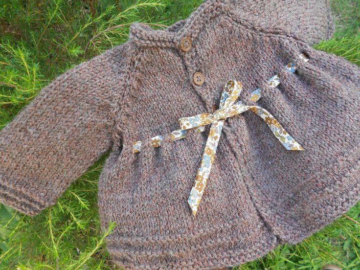 Gilet cannelle blogspot hello coton