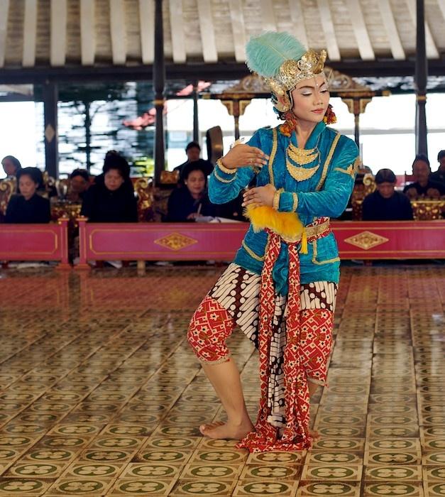 Javanese Court Dance, Yogyakarta