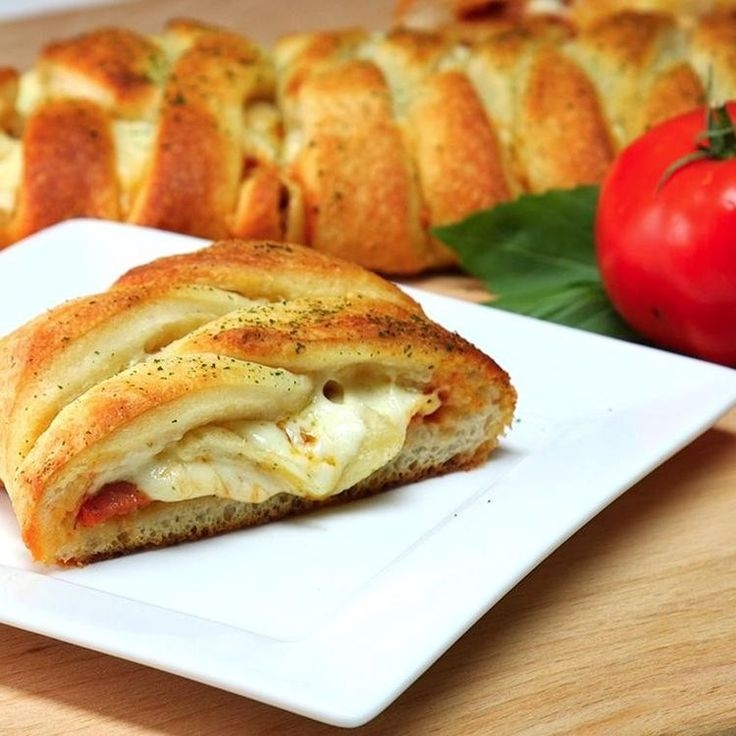 Pizza Braid: Makes an easy dinner or a quick game-night appetizer