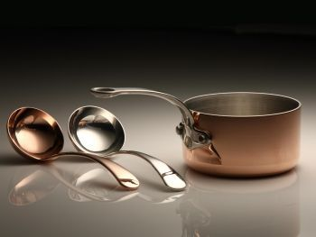 The newest Mini in our range - The Mini Ladle! Copper or Silver plated in Sheffield UK. £12.00 including UK only shipping.