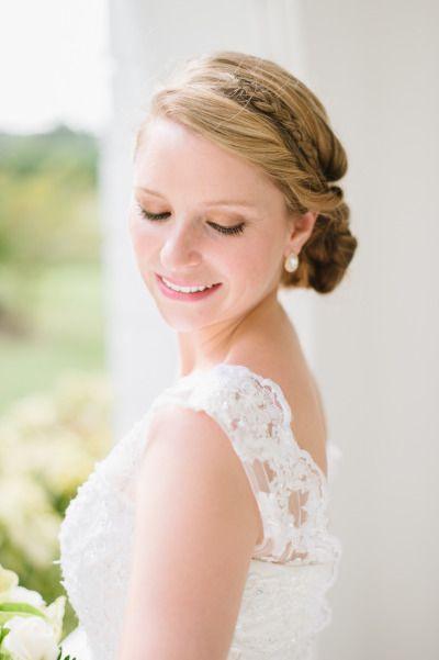Gorgeous braid and an updo: http://www.stylemepretty.com/destination-weddings/2015/03/10/elegant-jamaican-destination-wedding/ | Photography: Natalie Franke - http://www.nataliefranke.com/