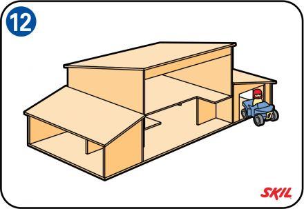 Een houten poppenhuis maak je eenvoudig zelf. Via 12 stappen maak je het ideale speelgoed voor je kinderen, bekijk hier het stappenplan poppenhuis maken.