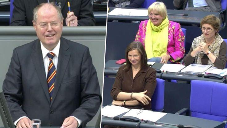 Der ehemaliger Bundesfinanzminister und SPD-Kanzlerkandidat Peer Steinbrück hat am Donnerstag seine letzte Rede im Bundestag gehalten.